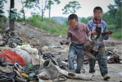 郑州军海癫痫医院 捡来的破烂可以卖钱,然后就可以救我爸爸了